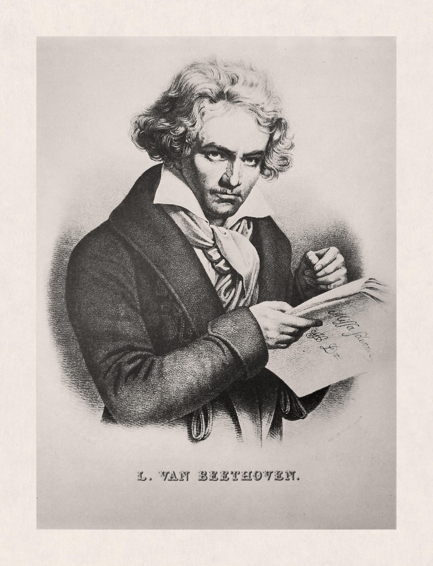 即興するベートーベン