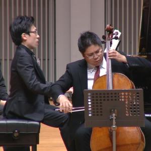 辻本玲(チェロ)中野翔太(ピアノ)<br> ベートーヴェン:チェロ・ソナタ第3番 イ長調 Op. 69 第3楽章 画像