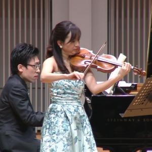 奥村愛(ヴァイオリン)中野翔太(ピアノ)<br> ベートーヴェン:2ヴァイオリン・ソナタ 第9番 イ長調 Op. 47「クロイツェル」第1楽章 画像